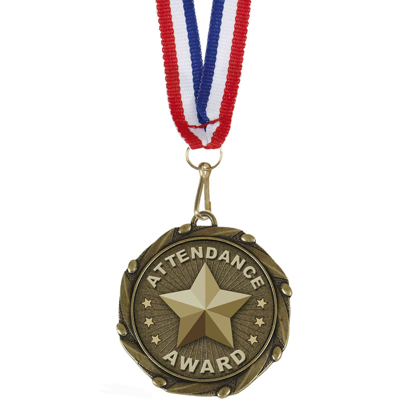COMBO Attendance Medal with Ribbon