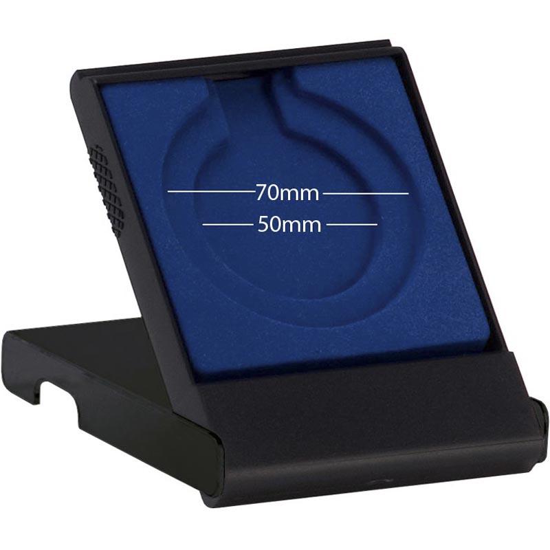 Economy Plastic Solid lid Medal