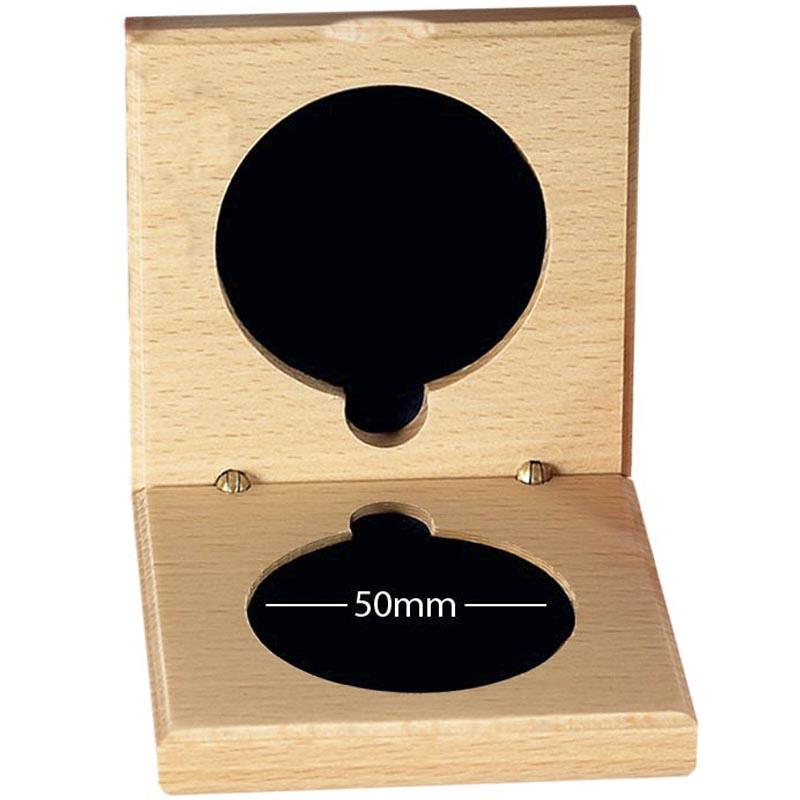 Medal Case50 Natural Wood