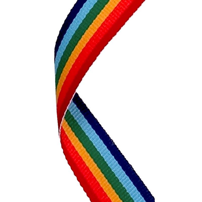 Medal Ribbon Rainbow