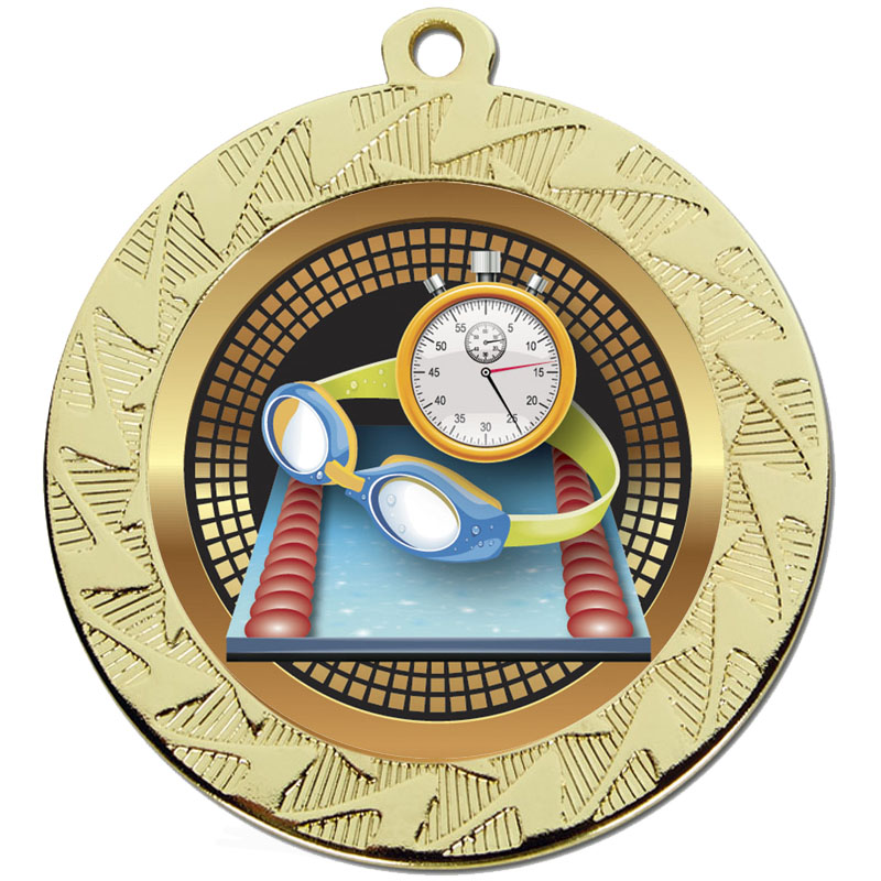 Prism70 Swimming  Medal