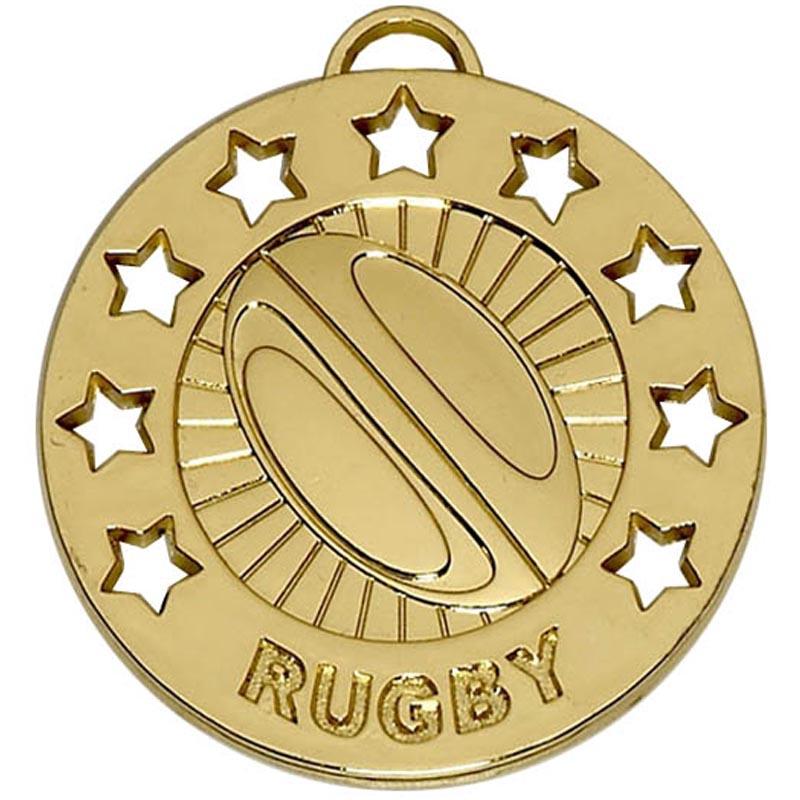 Spectrum40 Rugby Medal