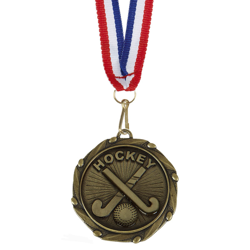 COMBO Field Hockey Medalwith 10mm R
