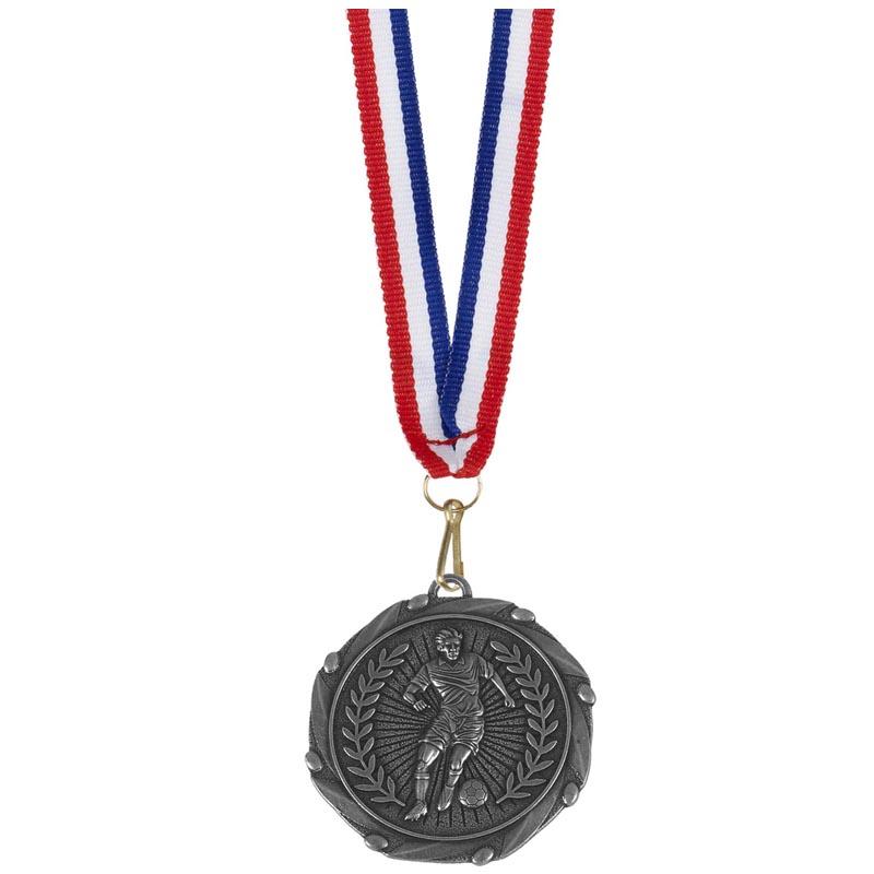Combo45 Footballer Medal & Ribbon