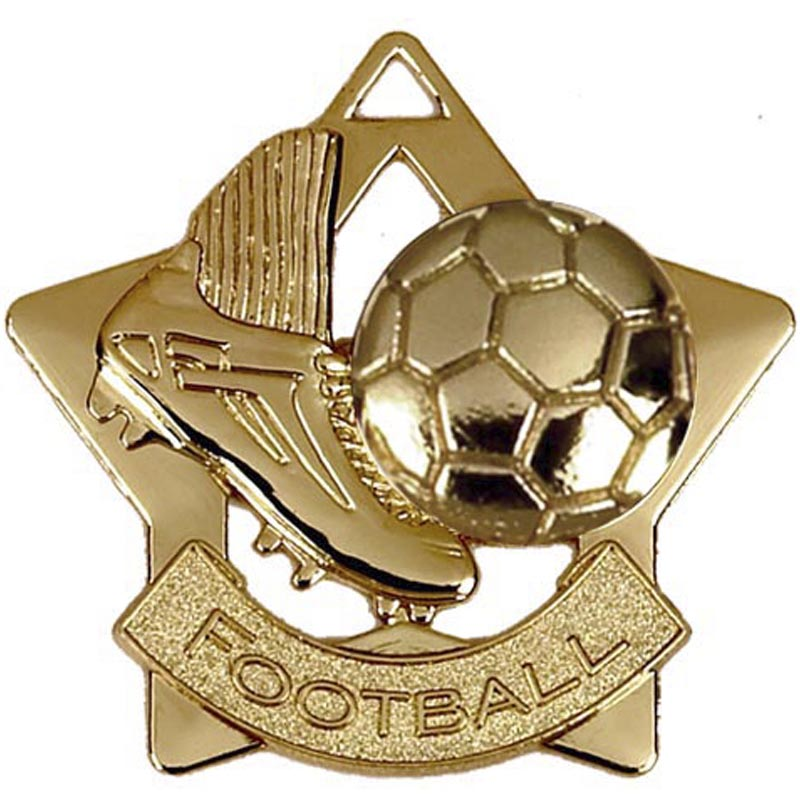 Mini Star Football Medal