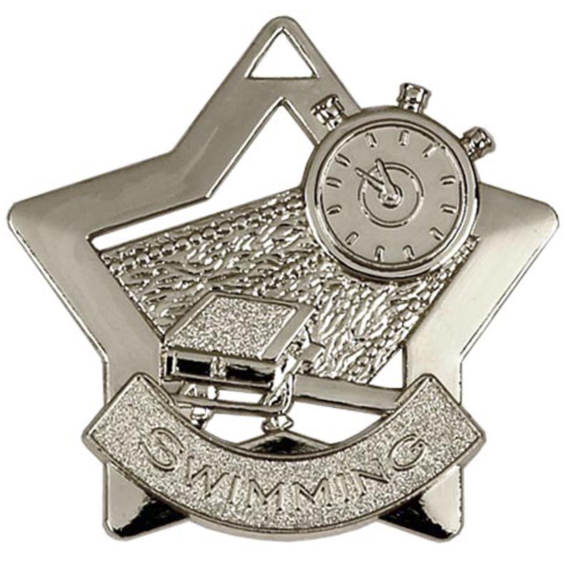 Mini Star Swimming Medal