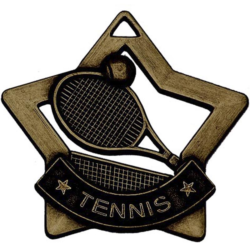 Mini Star Tennis Medal