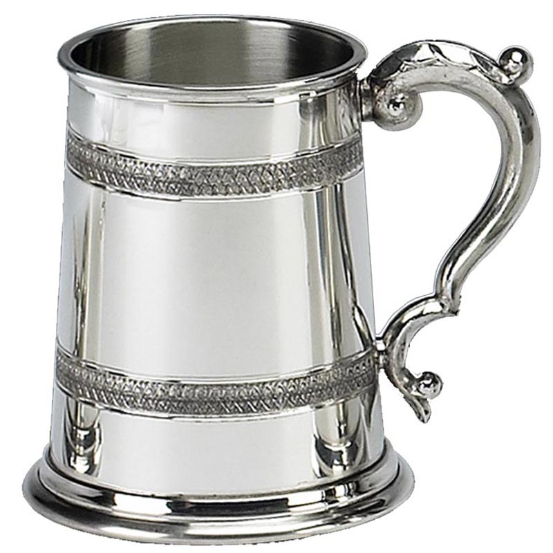 Celtic Embossed Tankard 1 Pt