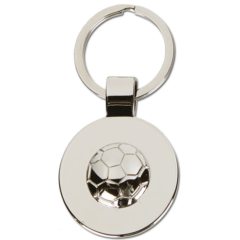 Round Football Keyring