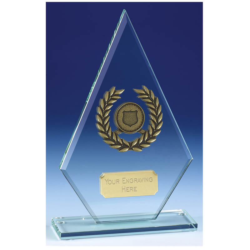 Pointer7 Jade Glass Trophy