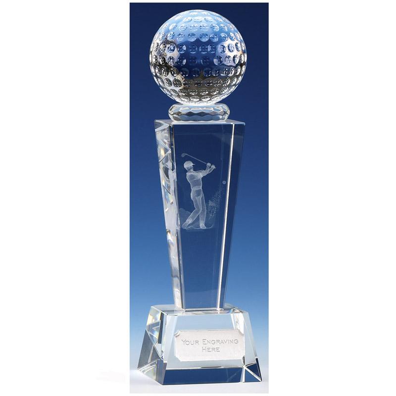 Unite Male Golfer Optical Crystal